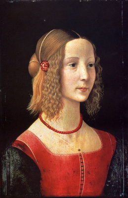 Domenico Girlandajo. Portrait of a girl