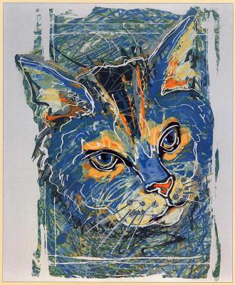 Пиппа Стерн. Синий кот