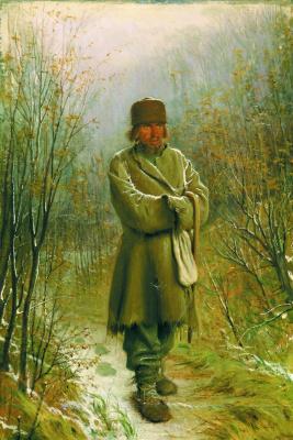 Ivan Nikolayevich Kramskoy. Contemplative