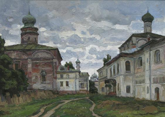 Oleg Borisovich Zakharov. All day in Borisogleb.