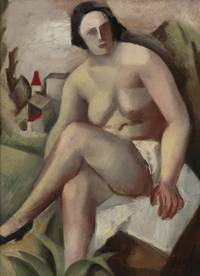 Seated nude. 1925