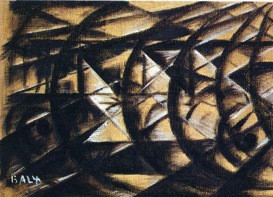 Giacomo Balla. Plot 10