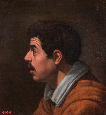 Диего Веласкес. Мужская голова в профиль
