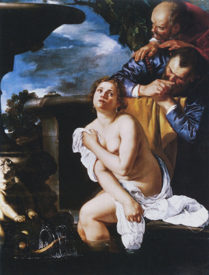 Artemisia Gentileschi. Susanna and the Elders