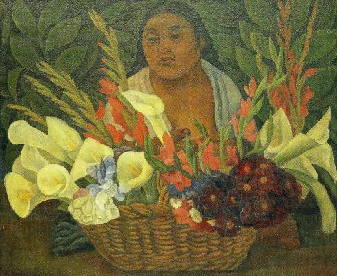 Diego Maria Rivera. Florist