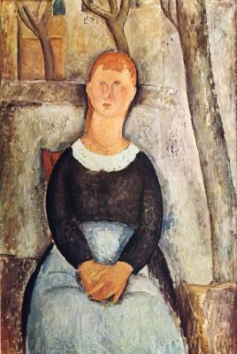 Amedeo Modigliani. Pretty Bucarasica