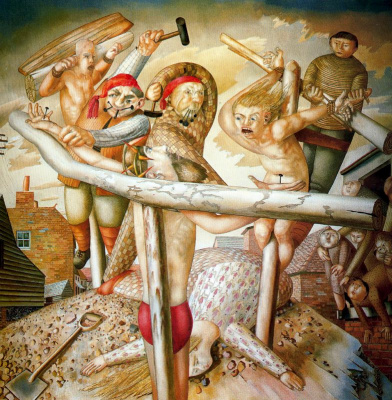 Stanley Spencer. Cruelty