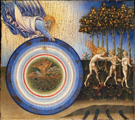 Джованни ди Паоло. Сотворение мира и изгнание из рая