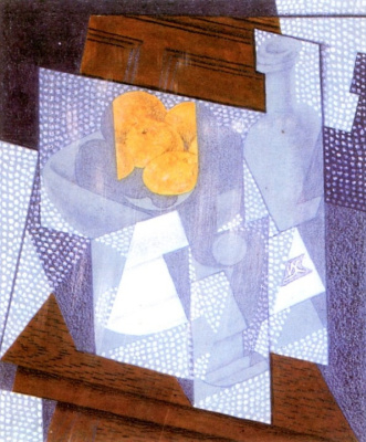 Juan Gris. Fruit plate