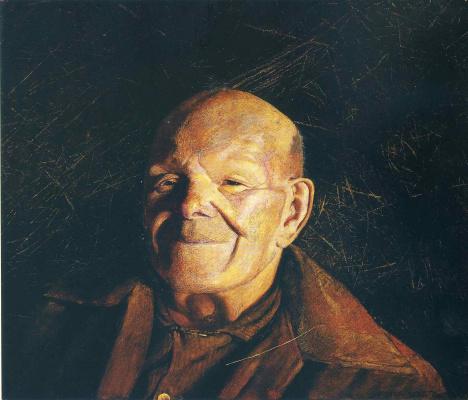 Jamie Wyeth. Portrait