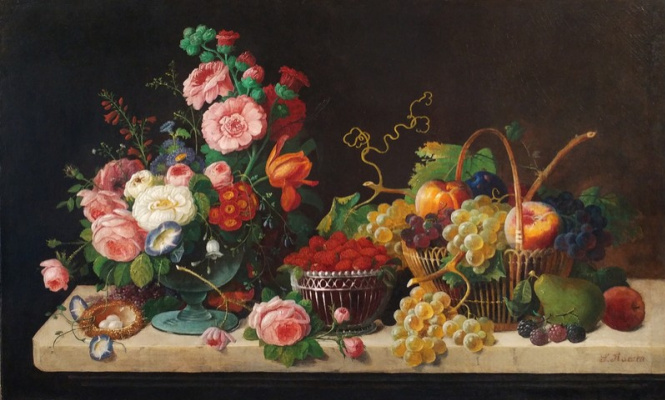 Severin Rosen. Flowers and fruits