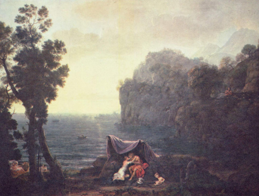 Claude Lorrain. AKID and Galatea