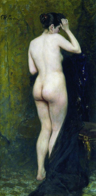 Ilya Efimovich Repin. Nude model (from behind)