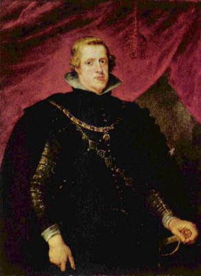 Peter Paul Rubens. Philip IV