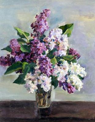 Petr Petrovich Konchalovsky. Lilac. Still life