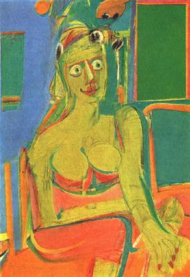 Willem de Kuning. Woman