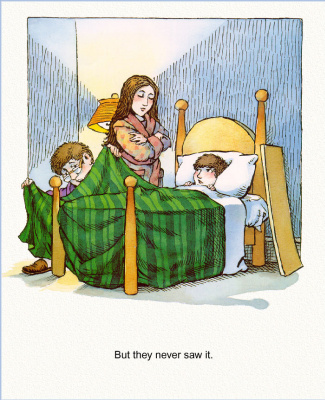 Мерсер Мейер. Иллюстрация к книге Там крокодил под моей кроватью 07