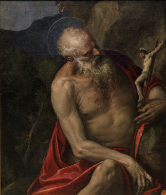 Paolo Veronese. Saint Jerome in Thought