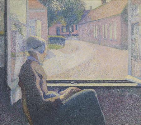 Анри ван де Велде. Женщина, сидящая у окна
