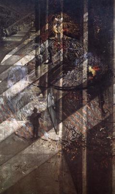 Сальвадор Дали. Веласкес, пишущий портрет инфанты Маргариты в лучах и тени собственной славы