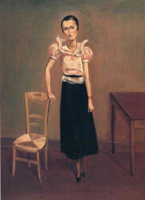 Бальтюс (Бальтазар Клоссовски де Рола). Портрет мадам Пьер Леб