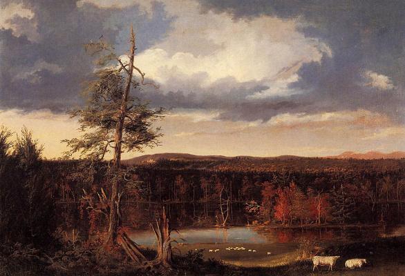 Thomas Cole. Landscape