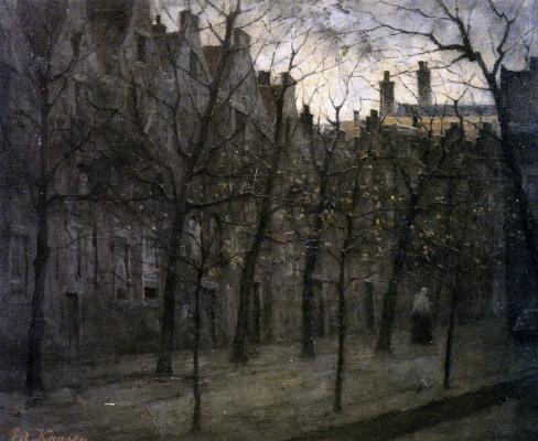 Эдуард Карсен. Бегинаж в Амстердаме