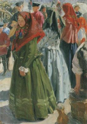 Иван Семенович Куликов. В праздничный день. 1906