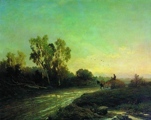 Fedor Alexandrovich Vasilyev. After the rain