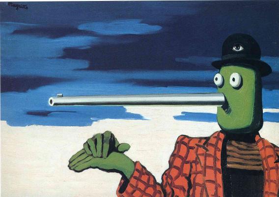 René Magritte. Dot
