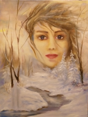 Valeria Kostromina. Winter. February girl.