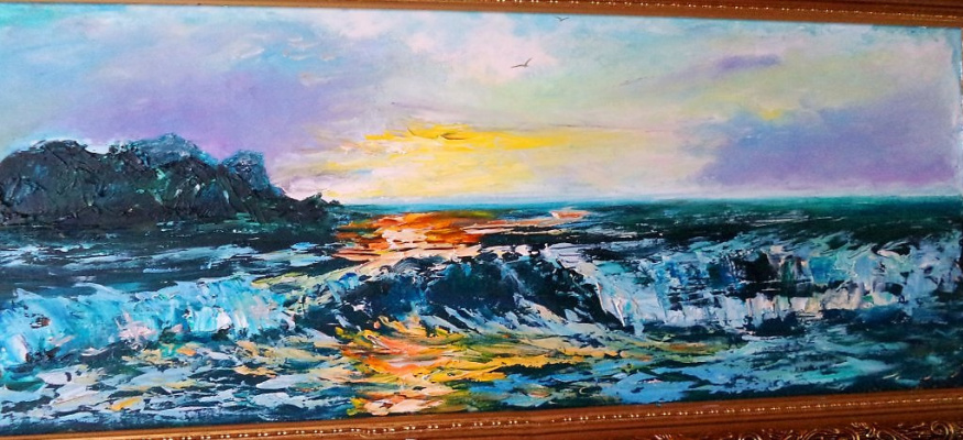 Константин Бойцов. Закат на Чёрном море