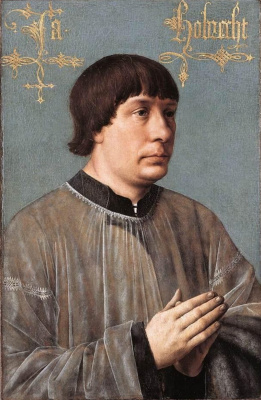 Hans Memling. Portrait Of James Obrecht