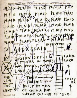 Jean-Michel Basquiat. Not found