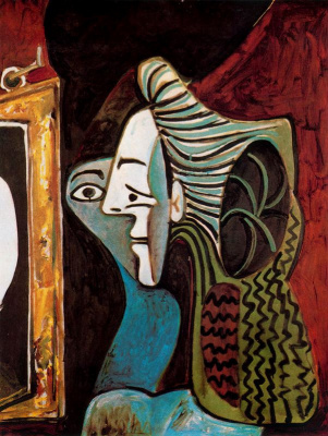 Pablo Picasso. The woman in the mirror