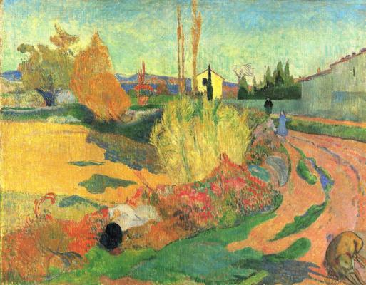 Paul Gauguin. View Of Arles