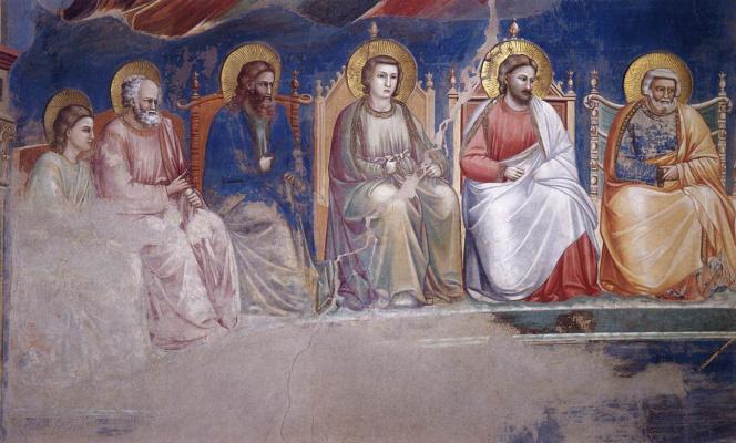 Giotto di Bondone. Judgment. Fragment 9