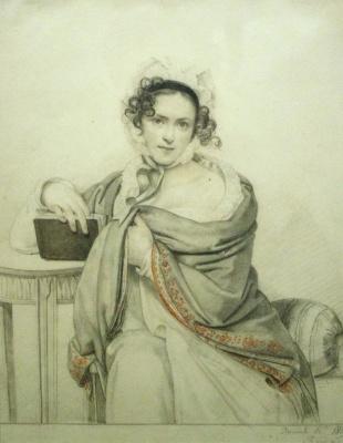 Orest Adamovich Kiprensky. Portrait of ss Shcherbatova