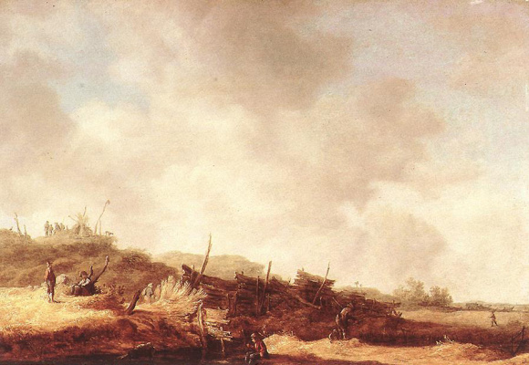Jan van Goyen. Landscape with dunes