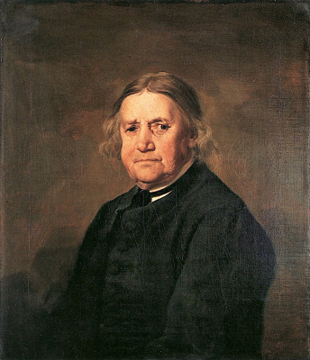 George Stubbs. Portrait of Thomas Smith, aged 70 years