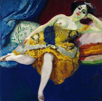 Кес Ван Донген. Золотое платье