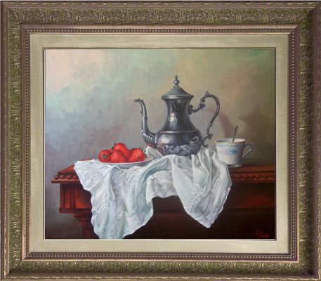 Евгений шалвович квавадзе. Натюрморт с чайником