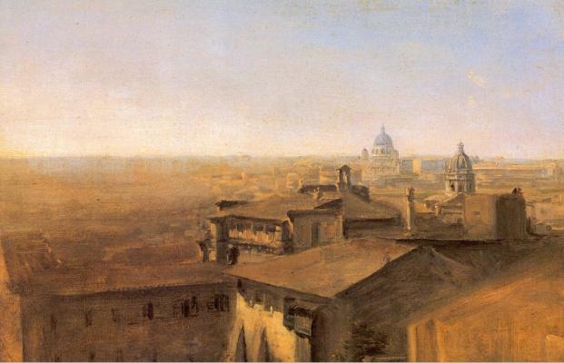 Вондиллис. Вид Святого Петра от виллы Мальта