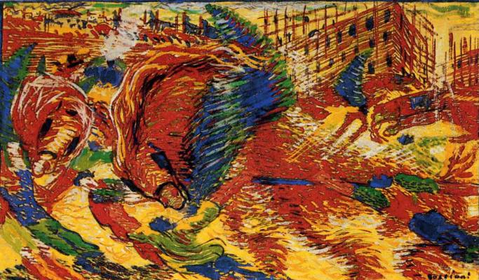 Umberto Boccioni. Plot 30