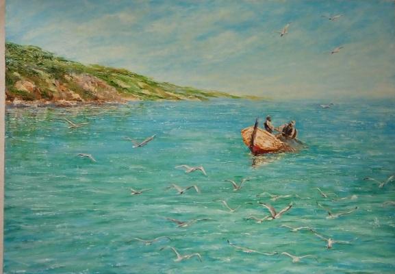 Валерий Владимирович Пахомов. Рыбаки средиземно морья