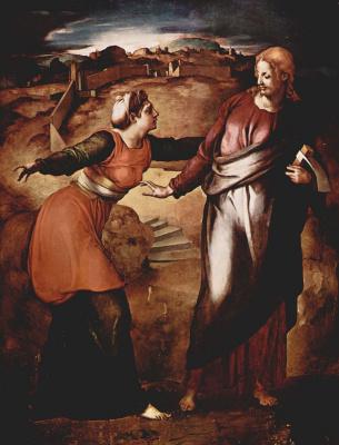 Agnolo Bronzino. Noli me tangere