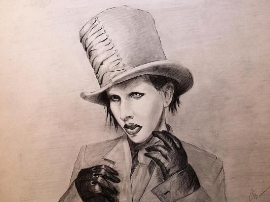 Ekaterina Vasilievna Solonar. Marilyn Manson