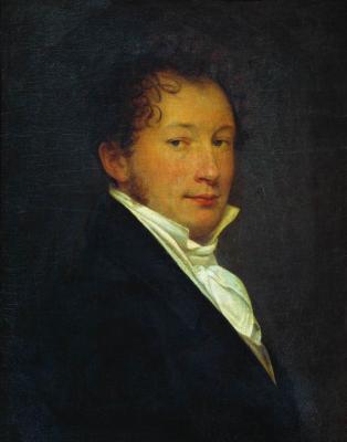Alexander Grigorievich Varnek. Self portrait. State Tretyakov Gallery, Moscow
