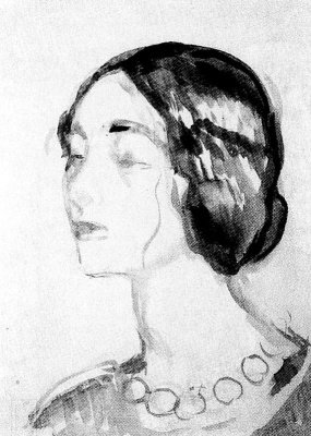 Edvard Munch. Female portrait