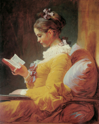 Жан Оноре Фрагонар. Читающая девушка
